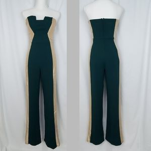 Crystal Doll Strapless Jumpsuit ~  Junior size 7 ~